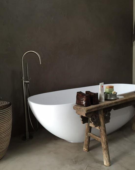 beal mortex onderhoud - luxury walls, Badkamer