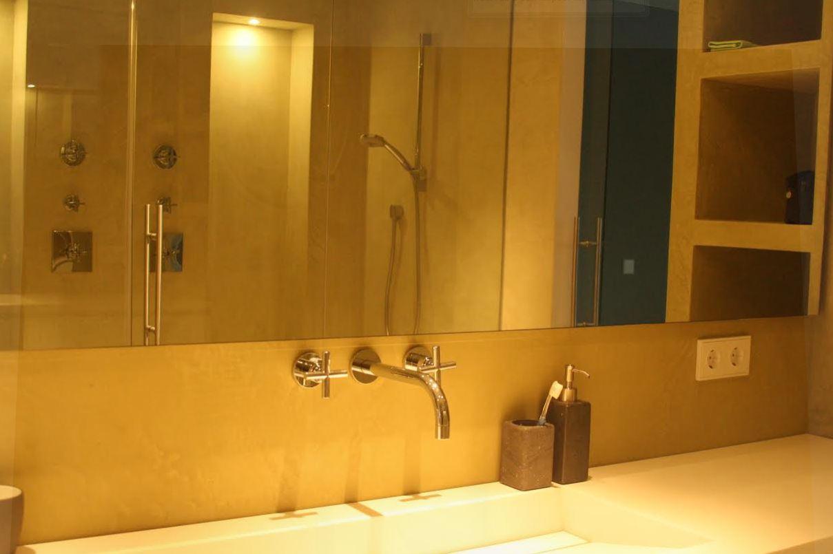 Beal mortex kent verschillende toepassingsmogelijkheden luxury walls - Uitzonderlijke badkamer ...