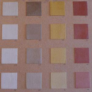 Beal Mortex kleurenkaart.